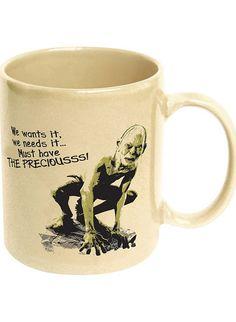 Gollum Coffee Mug - Must have the coffee!