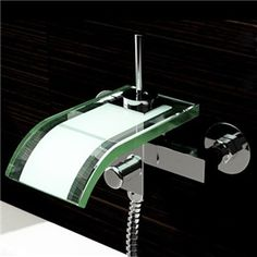 Search results for: 'faucets bathtub-faucets co-crystal-glass-waterfall-wall-mounted-tub-faucet' Bathroom Ideas Uk, Modern Bathroom, Glass Waterfall, Waterfall Faucet, Contemporary Bathtubs, Wall Mount Tub Faucet, Bathtub Accessories, Luxury Bathtub, Bathtub Remodel