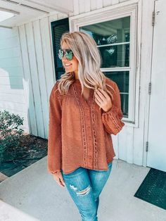I've Waited For You Top: Terra Cotta Cool Style, My Style, Waiting For You, Terra Cotta, Trendy Tops, Fashion Boutique, Best Sellers, Community, Pullover