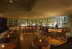 The bar at Route 6 in Philadelphia.  route6restaurant.com