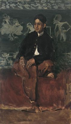 View PORTRAIT OF A NOBLEMAN (Circa By Isaac Israëls; Oil on canvas; 112 by 64 cm; 44 by 26 in; Access more artwork lots and estimated & realized auction prices on MutualArt. Renoir, Monet, Amsterdam, La Haye, Indonesian Art, Royal Academy Of Arts, Galerie D'art, Dutch Painters, Jewish Art
