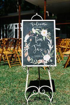 Jax + Tim:: A spring, Byron Bay Garden Wedding | Hummingbird Style & Hire