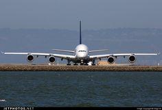 Airbus A380-841 D-AIMA 038 San Francisco Int'l Airport - KSFO