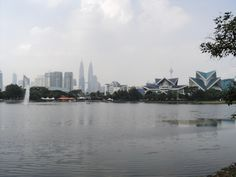 KUALA LUMPUR - the Twin Towers and the Theatre.