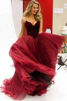 Sleeveless Sweetheart Floor-Length A-Line V-Neck Long Prom Dress with Ruched 44881503c