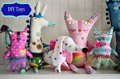 Make Your Own Soft Toys: A beginner's guide to inventing softies