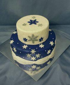 Winter Wonderland / Let It Snow Cake
