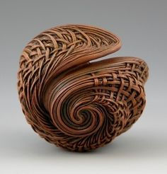 not a basket, but a woodcarving!