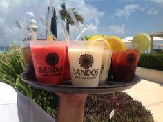 Try our variety of delicious drinks.  Sandos Cancun - Sandos Playacar - Sandos Caracol