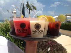 Try our variety of delicious drinks.  Sandos Cancun - Sandos Playacar - Sandos Caracol