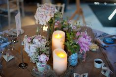 Whatever your Wedding theme or concept may be Luminara flameless candles bring the latest technology innovation to create a realistic flame-effect on your memorable occasion.