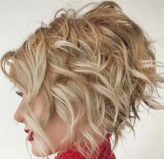 60 Most Magnetizing Hairstyles for Thick Wavy Hair 50 Haircuts For Thick Wavy Hair To Shape And Alleviate Your. 60 Most Magnetizing Hairstyles For Thick Wavy Hair. Prom Hairstyles For Short Hair, Layered Bob Hairstyles, Haircut For Thick Hair, Short Curly Hair, Messy Hairstyles, Short Hair Cuts, Curly Hair Styles, Hairstyles 2018, Hairstyle Ideas