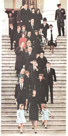 The state funeral of John F. Kennedy, 35th President of the United States, took place in Washington, D.C. during the three days that followed his assassination on Friday, November 22, 1963, in Dallas, Texas              RIP http://en.wikipedia.org/wiki/State_funeral_of_John_F._Kennedy