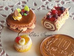 Miniature cake | Flickr: Intercambio de fotos