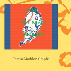 Looking for your next project? You're going to love New York Mets Mascot 250x250 by designer Teresa Maddon.