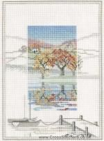 The Boat Landings - Misty Mornings - Cross Stitch Kit by Derwentwater Designs