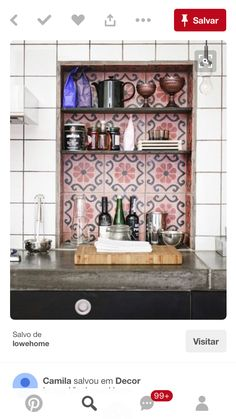 Kitchen Tiles Moroccan divine renovations moroccan tiles #splashback #feature | tiles