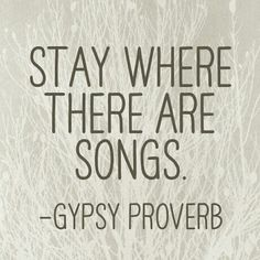 <3 Stay where...