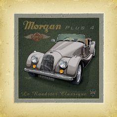 vintage car 2010 creation