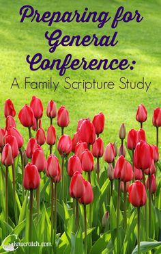 Prepare your family or Primary class for General Conference with this 6 day free study
