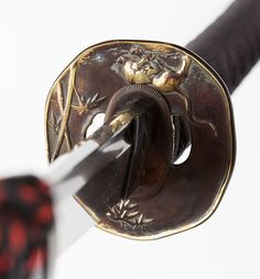 "Japanese Samurai Sword Traditional Katana TIGER & BAMBOO 玉鋼""Tamahagane 74.5"""