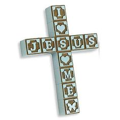 Abbey Press ABC Block Cross Blue * 48287 Blue(AU) * Check out the image by visiting the link. (This is an affiliate link and I receive a commission for the sales)
