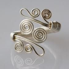 wire ring...someday.
