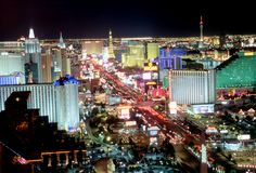 Vegas.  Where everything good and bad in the world is wrapped up in  one city