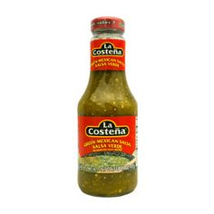Green Mexican Salsa is a favourite from Mexico. Made with tomatillos and jalapeño peppers, brings all the flavour and mild heat that makes Mexican food. Salsa Verde, Mexican Salsa, Green Salsa, Diced Potatoes, Stuffed Jalapeno Peppers, Tortilla Chips, Vegan Gluten Free, Mexican Food Recipes, Vegetarian