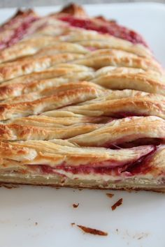 Raspberry Cream Cheese Danish      The first rule of making French pastry at home:    Get the most out of your dough and make 2 different recipes!