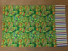 Teenage Ninja Turtle Standard Pillowcase by CreationsbySpike on Etsy