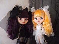 ・:*+.悪魔で天使の少女・.:+ カスタム icyドール by meo ブライス ._画像1