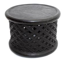 African drum table $1200
