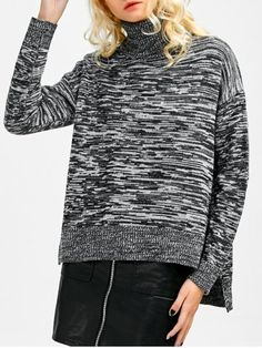 GET $50 NOW | Join RoseGal: Get YOUR $50 NOW!http://www.rosegal.com/sweaters/marled-boxy-turtleneck-sweater-912917.html?seid=6145535rg912917