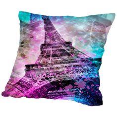 Found it at Wayfair - Pop Art Paris Eiffel Tower Throw Pillow