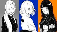 Ino, Sakura e Hinata (bff)