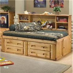 ... Bed Plans PDF Download on Pinterest | Captains bed, Woodworking plans