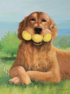 """""""His Best Talent"""" - Original Fine Art for Sale - © Joy Campbell"""