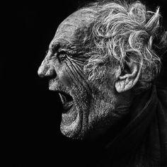 Photography - Lee Jeffries, #bnw #blackandwhite #monochrome #blackwhite #photography #portrait