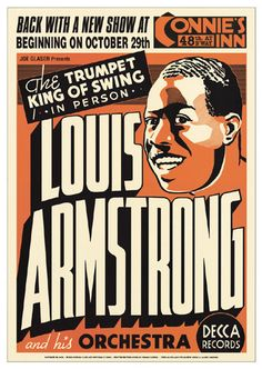 Louis Armstrong: Connie's Inn NYC, 1935 Unknown Fine Art Print Poster