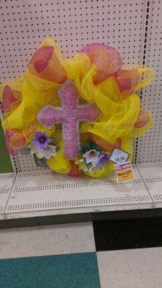 Easter wreath. Robin Evans
