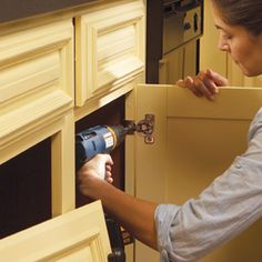 repaint cabinets - very detailed overview