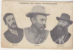 Generals of the Boere War Colonial, African History, South Africa, 19th Century, Empire, Southern, War, British, Events