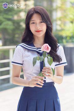 Japanese Beauty, Korean Beauty, Asian Beauty, Korean Women, Korean Girl, Asian Girl, Cute School Uniforms, School Uniform Girls, Japanese School