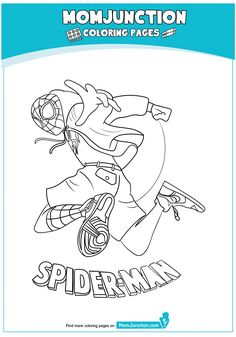 The Spiderman Ready Coloring Page Super Mam, Coloring Sheets, Coloring Pages, Iron Spider Suit, Spiderman Coloring, Drawing Superheroes, Pencil Art Drawings, Comics, Dragon Ball