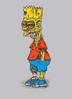 Bart Simpson zombie                                                                                                                                                                                 Más