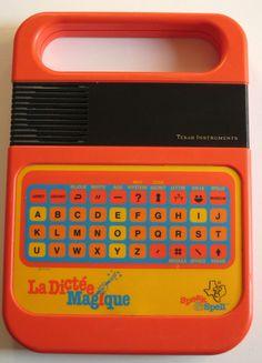 C'est la rentrée, vive les dictées magiques ! - Coup de vieux - Jouets années 80 et 90 Instruments, Back To The 80's, Texas, 80s Kids, Old Toys, Retro Design, Game Design, To My Daughter, Childhood
