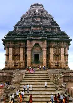Konark Sun Temple, Konark, in Odisha, India.