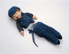 Shared Fate (Oliver), 1998 Doll cut in half by the guillotine that chopped off Marie Antoinette's head. Courtesy of the artist. by: Cornelia Parker Cornelia Parker, Turner Prize, Art Articles, Jasper Johns, Children In Need, Land Art, Lost & Found, Marie Antoinette, Art World