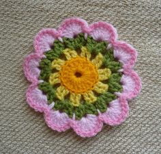 Yellow, Pink and Sparkly: Free Crochet Patterns